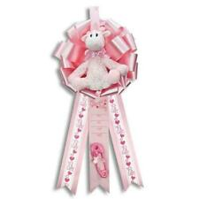 Giraffe It's a Girl Birth Announcement Hospital Door Hanger : Birth Announcement