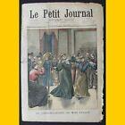 LE PETIT JOURNAL Supplément illustré Conservatoire Mimi Pinson 12 octobre 1902