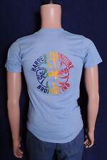 Vintage '70s/80s Harper Furniture Broyhill Ind. Lenoir NC soft blue t shirt XS