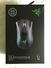 Razer DeathAdder Elite (RZ01-02010100-R3U1) Wired Gaming Mouse - Black