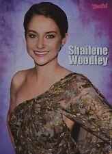 SHAILENE WOODLEY - A4 Poster (ca. 21 x 28 cm) - Clippings Fan Sammlung NEU