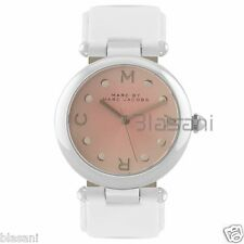 Marc by Marc Jacobs Original MJ1407 Dotty Women's White Leather Strap Watch