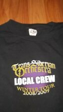 TSO Local Stage Crew TRANS-SIBERIAN ORCHESTRA Concert T-Shirt XL mens womens