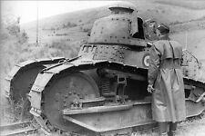 WW2 - Char Renault APX R35 français capturé par les allemands en 1940