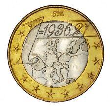 ITALIA PRECURSORI EURO - Gettone 1 Euro 1936,27 UNIDERM AL MEDICO EUROPEO