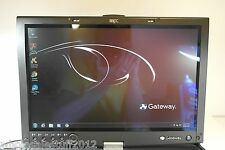 Gateway M295 2.1ghz dual core 2gb 80gb combo win 7 tablet laptop 2-1 NS