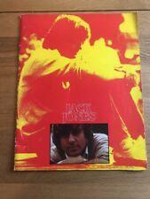 1975, Jack Jones In Concert, Official Souvenir Brochure