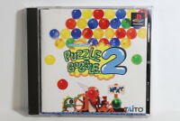 Puzzle Bobble 2 W/ Spine PS1 PS PlayStation 1 PSX Japan Import US Seller