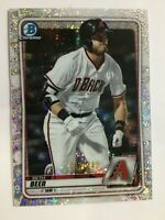 SETH BEER 2020 BOWMAN CHROME SPECKLE REFRACTOR ROOKIE RC DIAMONDSBACKS SP /299