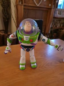Buzz Lightyear Figure Chrome Utility anti-gravity Belt RARE TOY STORY - PIXAR