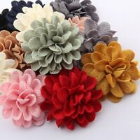 """20pcs 6.2CM 2.4"""" Hair Flower For Hair Accessories Fabric Flowers For Head Wear"""