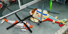 2000 Tonka FUNRISE HASBRO Coast Guard Rescue Helicopter  Lights & Sound & BONUS
