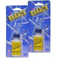 Performix 630076 Plasti Dip ReRack Vinyl Dishwasher Rack Repair, White - 2 Pack