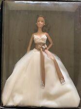 Monique Lhuillier Bride 2006 Barbie Doll Gold Label Brunette