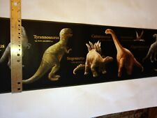 Tyrannosaur0S Rex & Other Dinosaurs Pre-Pasted Wallpaper Border # Ck7642B