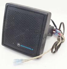 Motorola Mobile Radio External 13 Watt Speaker Gm300 Xtl1500 Xtl2500 Xtl5000 F