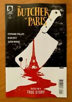 BUTCHER OF PARIS #1 Main Cover A 1st Print Dark Horse 2019 NM+