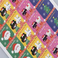 60x DIY Scrapbooking Merry Christmas Gift Sticker Cookie Labels Stickers Pop