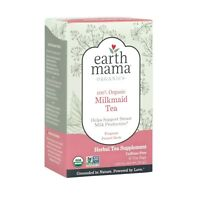 Organic Milkmaid Tea, Earth Mama Angel Baby, 16 tea bag