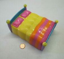 Dora the Explorer PARENTS DOUBLE BED Dollhouse Sized 5.5 Inches Long Rare!