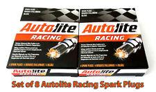 "NEW Set of 8 pack Autolite AR5383 Racing Spark Plugs 14mm .750"" Top Fuel Nitro"