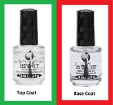 Seche Vite Dry Fast Top Coat 14 mL (NO BOX) + Clear Base Coat 14 mL (NO BOX)