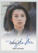 2015 Full-Bleed Autographs #MIWE Ming-Na Wen as Agent Melinda May Auto Card 0z5