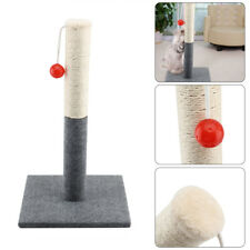 Cat Scratch Play Post Kitten Scratching Pole Stand With Toy Ball