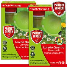 Protect Garden 2 x 250 ml Loredo® Quattro Universal-Rasenunkrautfrei