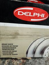 Delphi Rear 2x Coated Brake Discs BG4200C - BRAND NEW