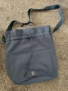 Sweaty Betty Bettle Blue Duffle Bag Bnwot