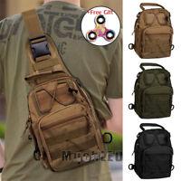 Tactical Molle Sling Chest Men Backpack Bag Assault Pack Messenger Shoulder Bag