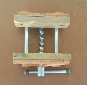 """Pony Adjustable Woodworkers Vise 26545 Light Duty 6.5"""" W 4.5"""" Opening"""