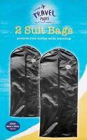 Travel Suit Bag Pack of 2 Clothes Suit Garment Bag Protect Clothes 58cm x 100cm