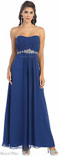 SIMPLE BRIDEMAIDS EVENING GOWN SEMI FORMAL HOMECOMING QUEEN DRESSES & PLUS SIZE
