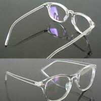 Unisex-Brillengestell Retro Transparente Vollrandbrille Beste
