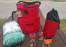 Tree Climbers Rope Kit,150' Climbing Rope,166' Throw Line,2-Throw Bags,Rope Bag