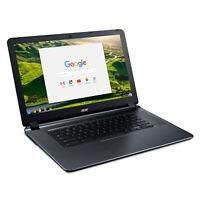 "Acer CB3-532-C4ZZ ChromeBook 15 15.6"" HD N3060 1.6GHz 4GB RAM 32GB eMMc Chrome"