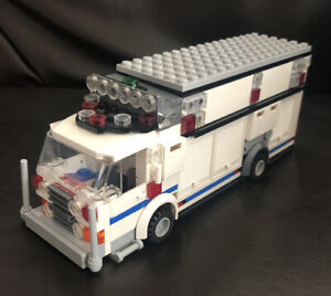 Lego Custom NYPD ESU ESS TRUCK New York Police Department SWAT Car Vehicle Van