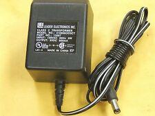Lei Power Supply Adapter Ac-Dc 410906Oo3Ct 9Vdc 600mA 5.5 x 2.1 Barrel Plug Tip