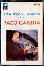 PACO GANDIA - Lo Nuevo Y Lo Mejor - SPAIN CASSETTE Emi 1979 - Vaya Pelmazo