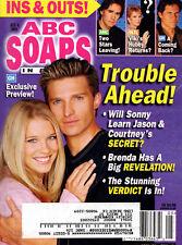 ABC Soaps In Depth Magazine - February 4, 2003  Steve Burton Alicia Leigh Willis