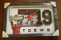 Jonathan Toews Chicago Blackhawks 2015 Stanley Cup 35x22 Framed