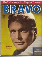 BRAVO Nr.26 von 1961 Willy Hagara, Lilli Palmer, Sandra Dee, Christine Kaufmann