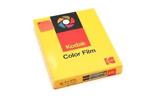 Kodak 4x5 Ektachrome Type B 6116 Color Film (Expired April 1975) 10 Sheets 34583