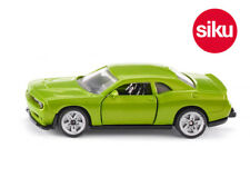 Siku 1408 Dodge Challenger SRT Hellcat in Green with Opening Doors Small Scale