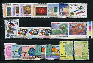 R178  Philippines  small MNH selection - see scan