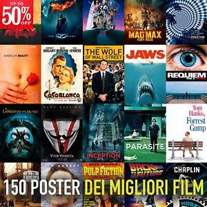 Poster film locandina dei migliori film -50 % poster per arredamento stanza casa
