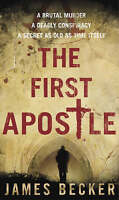 The First Apostle, Becker, James, Very Good Book