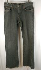 "Lucky Brand Blue Jeans 6/28 Midrise Flare Made USA Regular Length 33"" Dungarees"